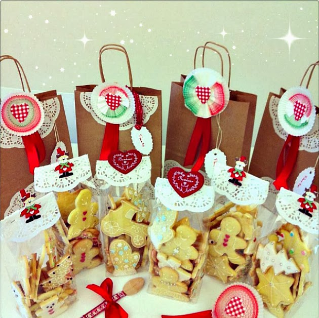 Idee Per Confezionare Biscotti Di Natale.Biscotti Per Natale Heart Candy Pops