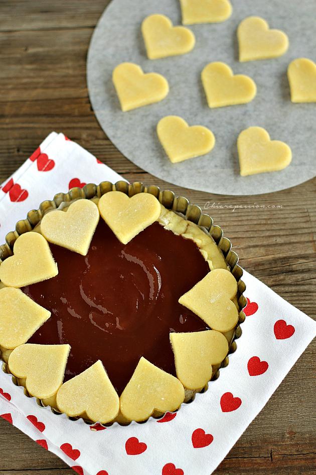 Crostata di cuori ricetta per san valentino - San valentino decorazioni ...