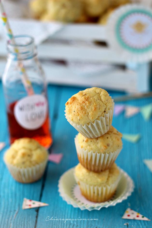 muffin con pecorino romano
