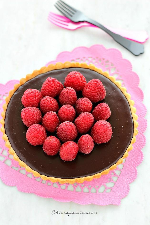 Tarte au chocolat fondant_facile e veloce