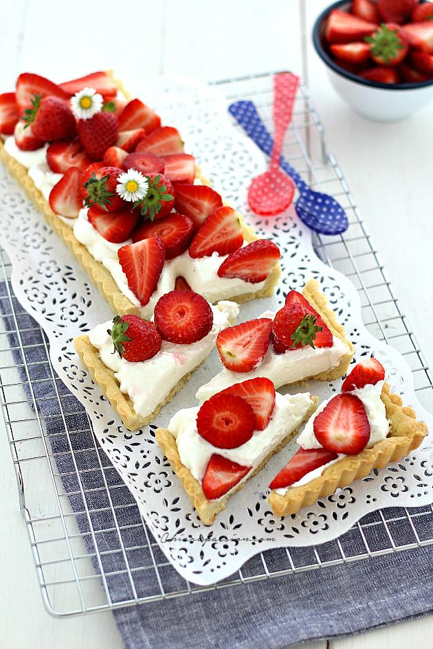 crostata-fragole-e-panna