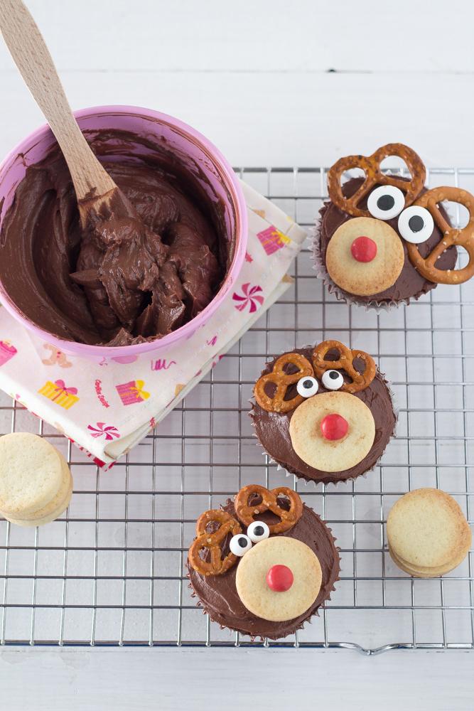 reindeer cupcakes_renne_dolce_Natale