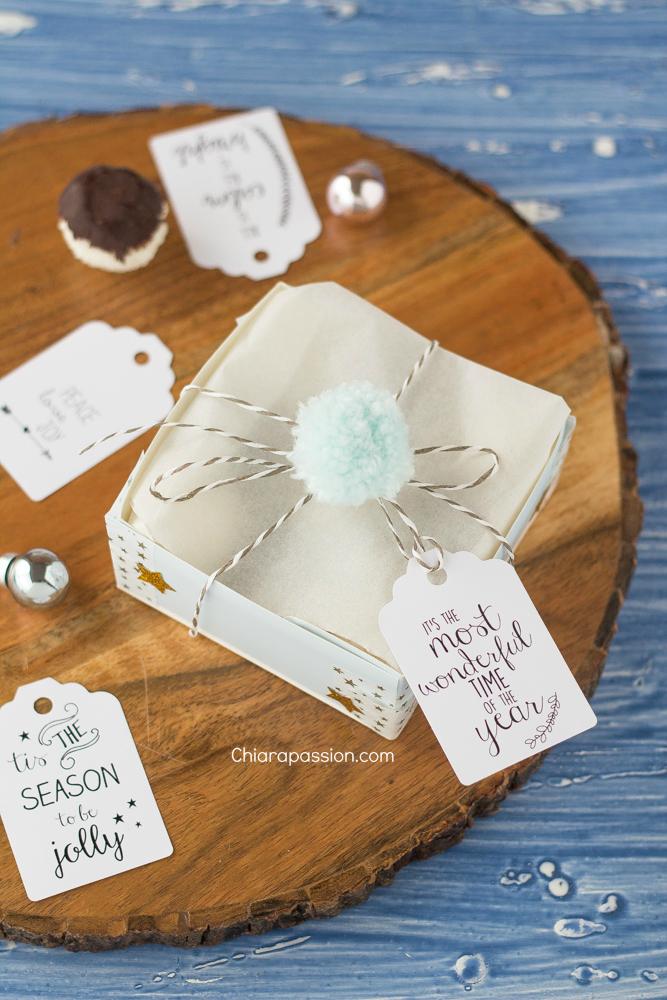 Scatola porta biscotti con piattino di carta for Scatole fai da te