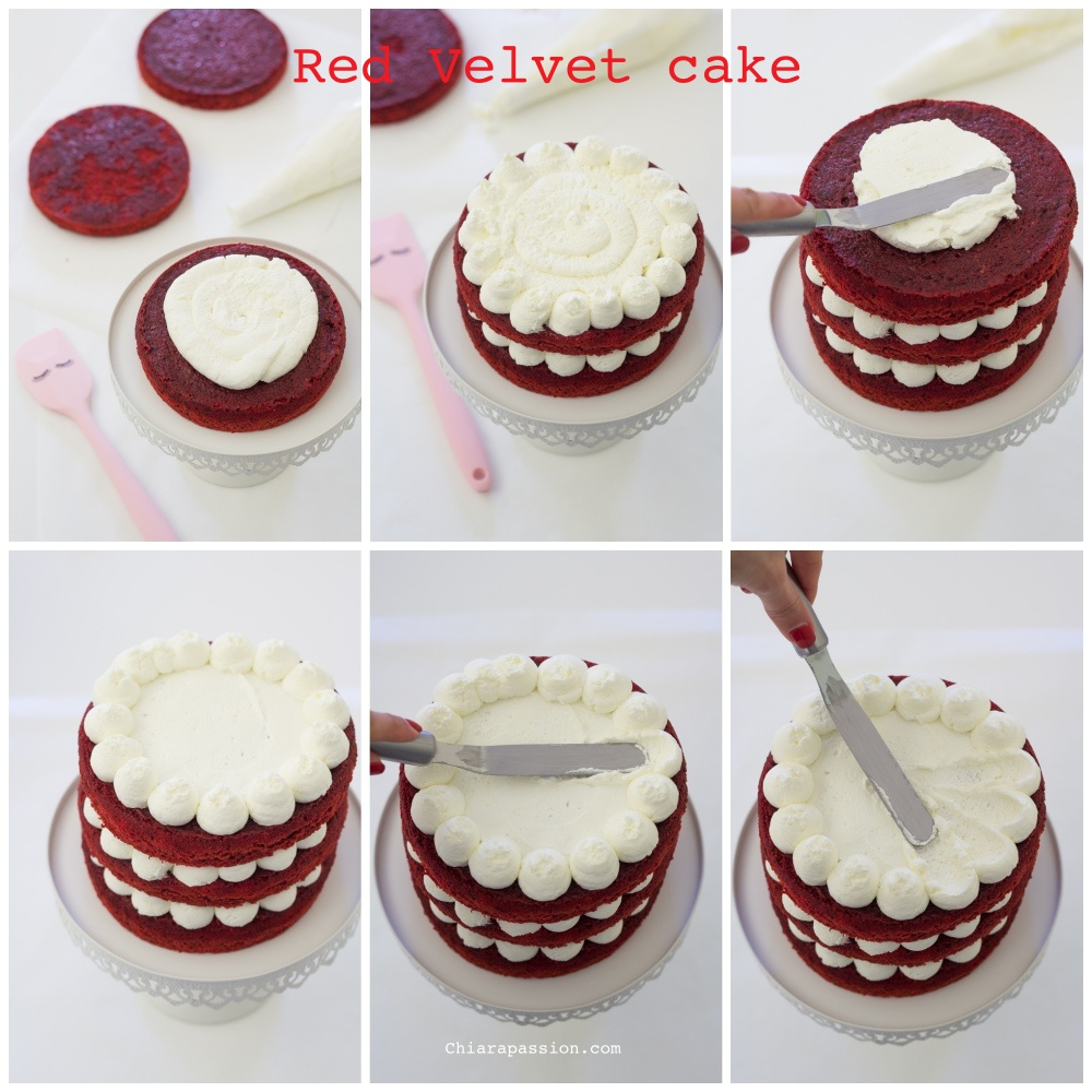 come-fare-torta-red-velvet-cake-decorazione-passo-passo-tutorial
