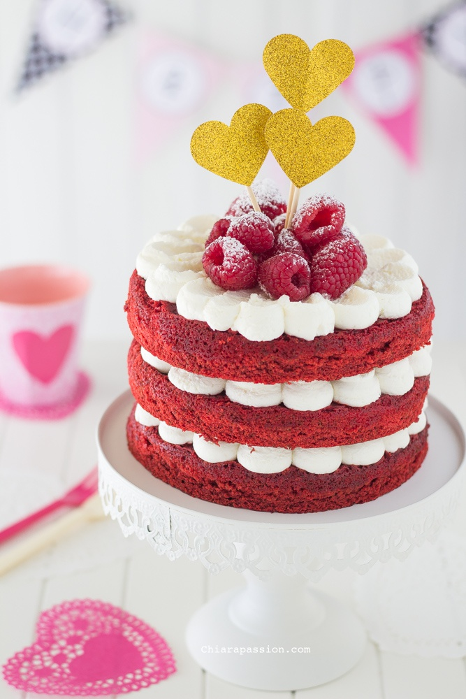 Mascarpone Red Velvet Cake