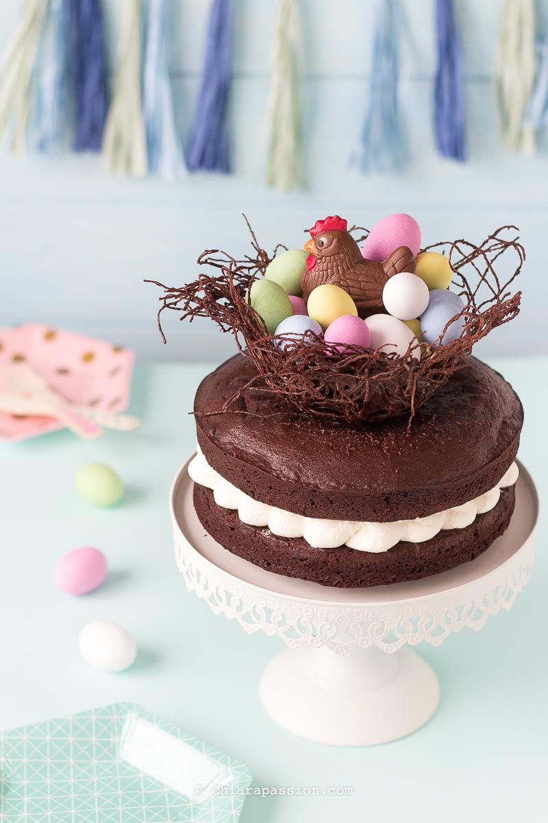 torta-nido-di-pasqua-al-cioccolato-mud-cake-ovetti-confettati