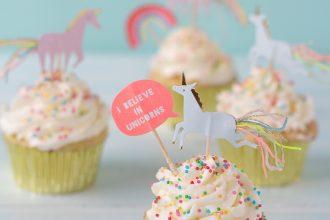 funfetti-cupcakes-sprinkles-confettini-unicorno-crema-al-burro-meri-meri-party