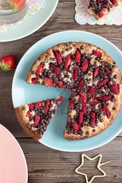 Torta Cookie Senza Uova, Senza Burro, Senza Glutine