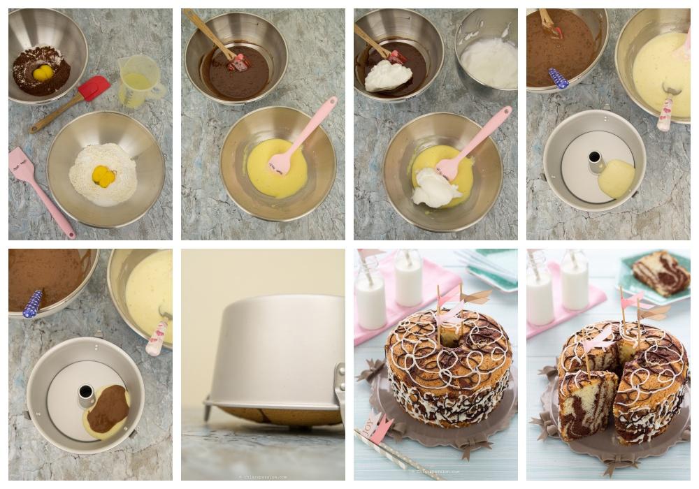 come-fare-chiffon-cake-marmorizzata-ciambella-bicolore-bianco-nero-torta