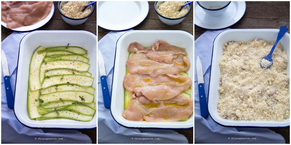 ricetta-petto-di-pollo-con-crumble-zucchine-secondo-piatto-al-forno