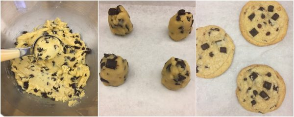 come-fare-cookies-americani-con-gocce-di-cioccolato
