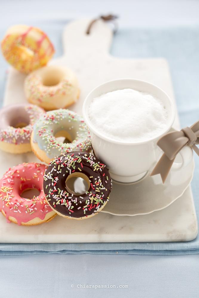 ciambelle,senza,glutine,simil,donuts,al,forno