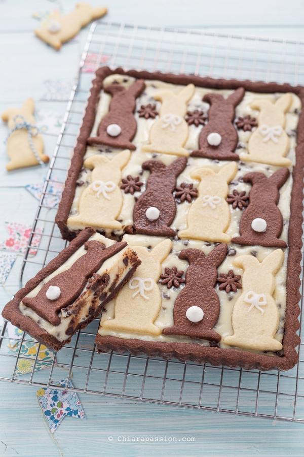crostata-di-pasqua-ricotta-e-cioccolato-stampo-coniglietto
