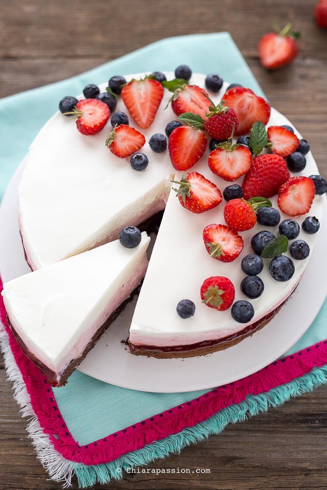 Cheesecake Alle Fragole Senza Gelatina Colla Di Pesce