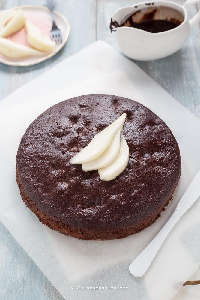 torta-pere-e-cioccolato-senza-uova-senza-burro-senza-latte