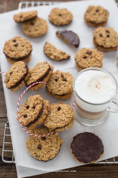 Biscotti Svedesi Avena e Cioccolato