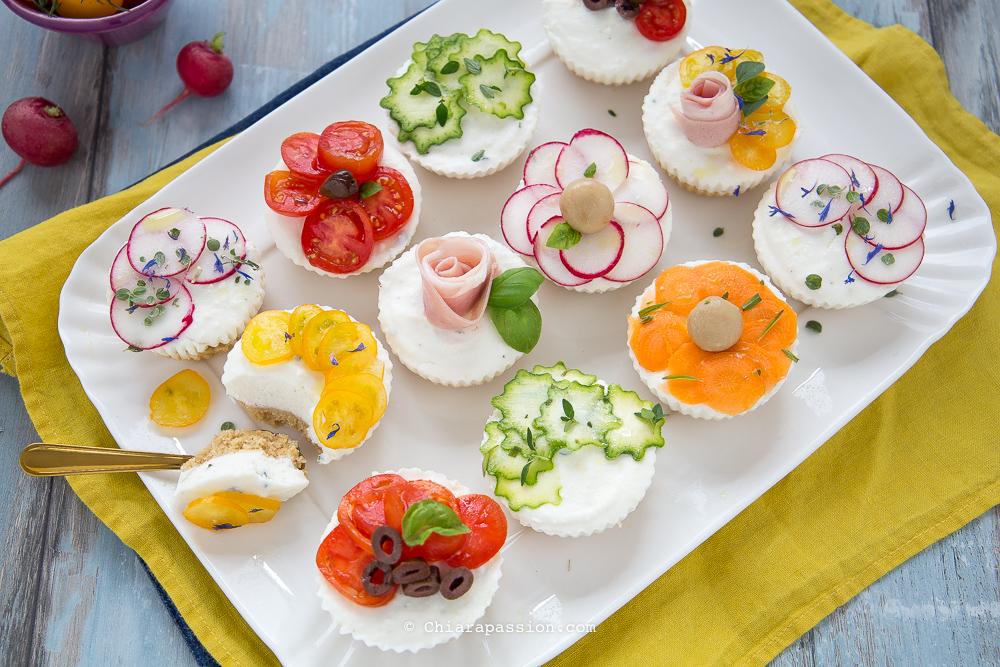 Buffet Natalizio Salato : Cheesecake salate facili e veloci perfette per buffet