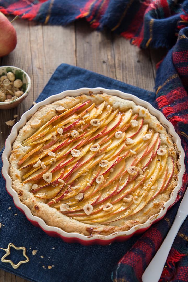 Crostata di mele facile e veloce for Crostata di mele