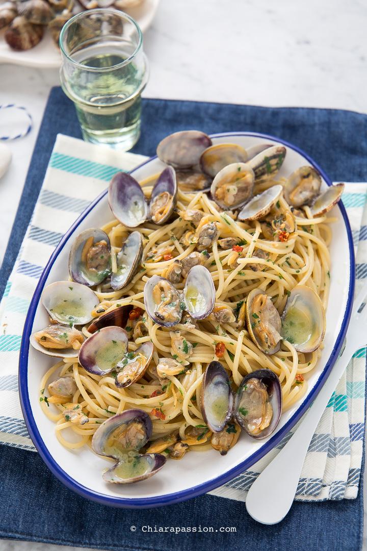 Ricetta Per Vongole.Ricetta Spaghetti Alle Vongole Veraci Come Al Ristorante