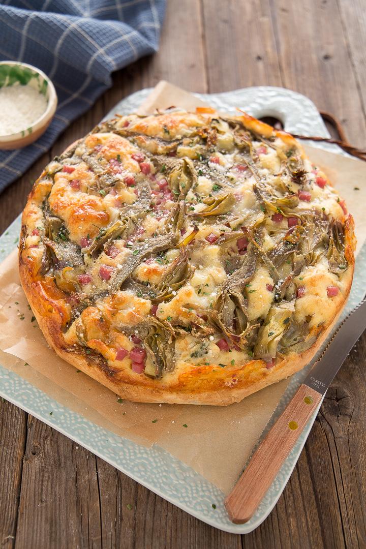 Ricetta Torta Salata Con Carciofi Facile E Veloce