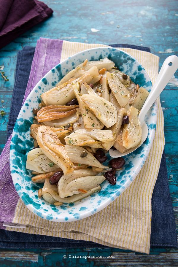 Ricetta Finocchi In Agrodolce In Padella