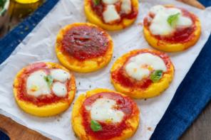 Pizzette di polenta