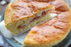 Torta rustica farcita