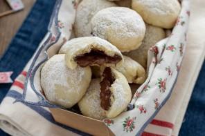 Biscotti alla ricotta con nutella