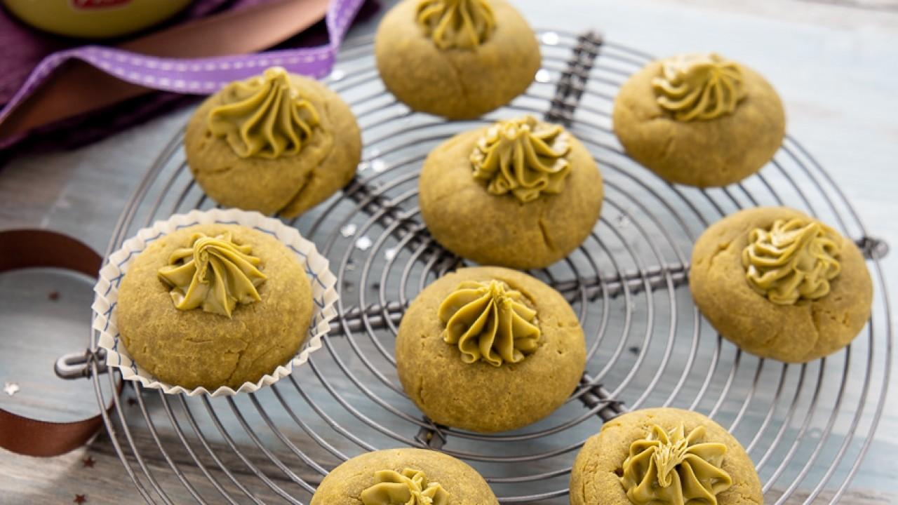 Ricetta Nutellotti Al Pistacchio.Pistacchiotti Biscotti Al Pistacchio Solo 3 Ingredienti Chiarapassion